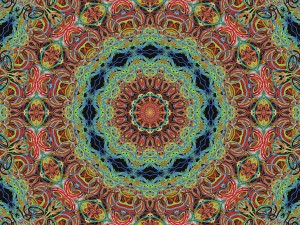 mandala colorful
